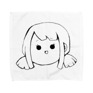 Yatamame ブランド -GIRL- Towel Handkerchief