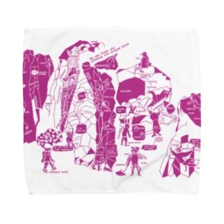 クライマーシリーズ:どうぶつ英語 Towel handkerchiefs