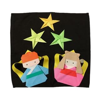 七夕☆ Towel handkerchiefs