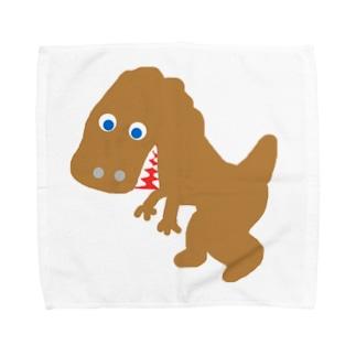 ティラノ Towel handkerchiefs