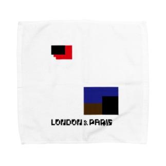 LONPARI 8BITS 「GEEEEO」 Towel handkerchiefs