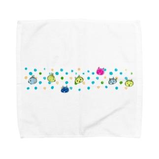 ニセアヒルサマー Towel handkerchiefs