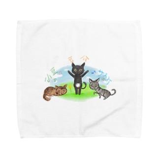 あずきちゃんたち❤ Towel handkerchiefs
