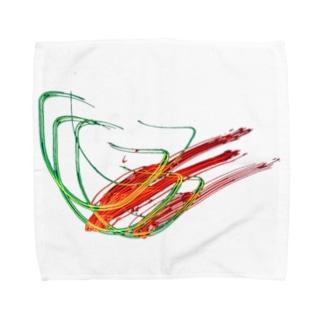 電蟲 Towel handkerchiefs