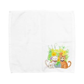 ちゃんでぃちゃんたち★ Towel handkerchiefs