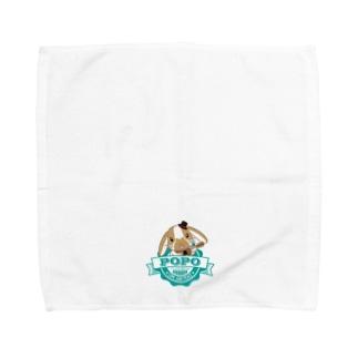 ポポとギター Towel handkerchiefs