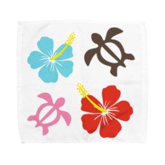 ホヌ Towel handkerchiefs