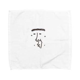 てるざえもん Towel handkerchiefs