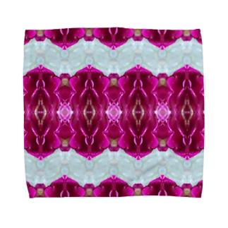 Villa Rabian rose Towel handkerchiefs
