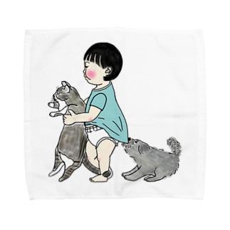 tabiharuの幼なじみ Towel handkerchiefs