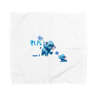 猫族*犬族の部屋『れん』 Towel handkerchiefs