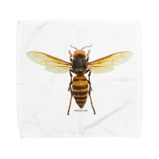 オオスズメバチ女王 Towel handkerchiefs