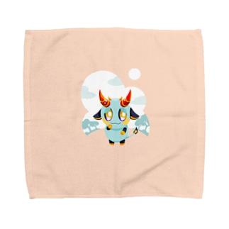 うしおに Towel handkerchiefs