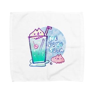 ねこよソーダ Towel handkerchiefs
