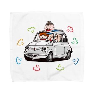 チンクファミリー Towel handkerchiefs