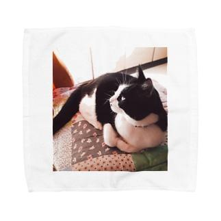 ちーちゃんの 微睡み Towel handkerchiefs