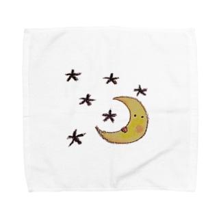 moon Towel handkerchiefs