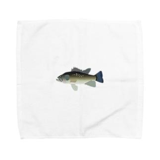 ブラックバス Towel handkerchiefs