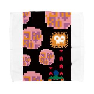 INVADERS Towel handkerchiefs
