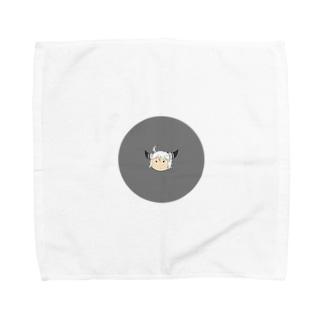 哲 Towel handkerchiefs
