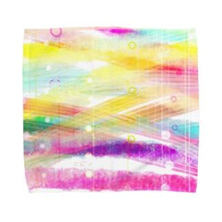 行き交う Towel Handkerchief