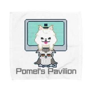 Pomel's Pavilion  Towel handkerchiefs