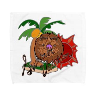サマーバケーション Towel handkerchiefs