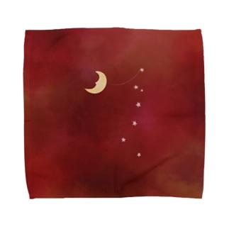 山の中のさあかす Towel handkerchiefs