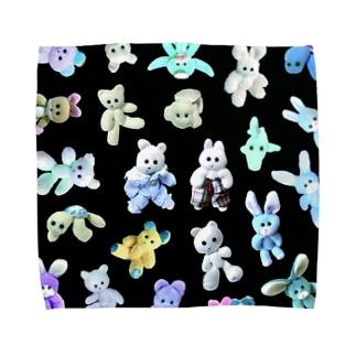 K-FAMILY night Towel handkerchiefs