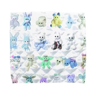 K-FAMILY morning Towel handkerchiefs