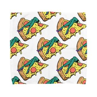 欲望のピザ🍕 GUILTY PLEASURE PIZZA AO TRANSPARENCY Towel Handkerchief