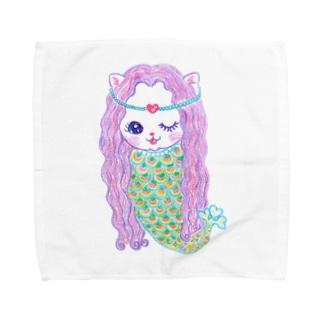 あまびゑにゃん Towel handkerchiefs