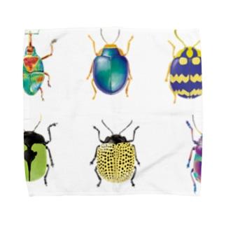昆虫シリーズ Towel handkerchiefs