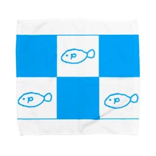 さんびきのおさかな Towel handkerchiefs