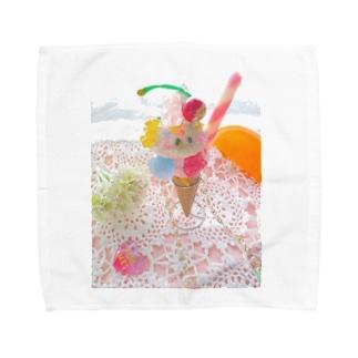 Bear Gummy Pafeit Towel handkerchiefs