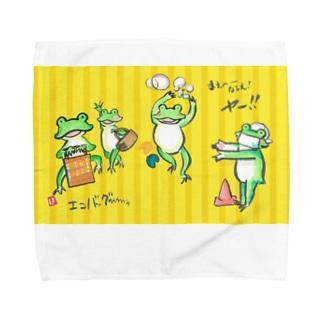 カエル日常さん Towel handkerchiefs
