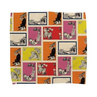 Reprint stationery design Towel handkerchiefs