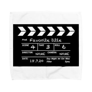 映画撮影 カチンコ Towel handkerchiefs