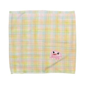 ねねくらげ1×1 Towel handkerchiefs