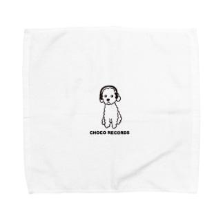 CHOCO RECORDS Towel handkerchiefs