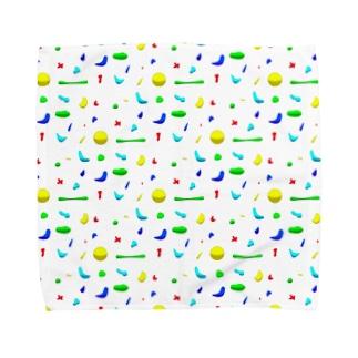 もち米のLet's bouldering! Towel handkerchiefs
