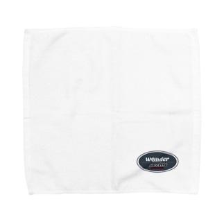 wonderオリジナルロゴNEW Towel handkerchiefs