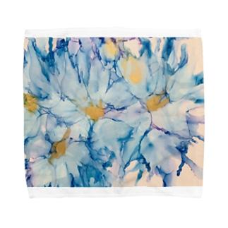 Sea & flower Towel handkerchiefs