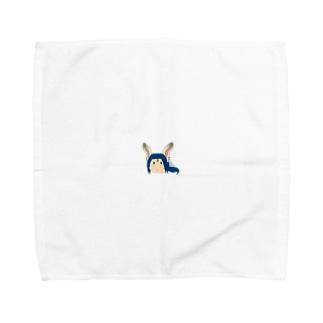 本日も晴天なりの百環 Towel handkerchiefs