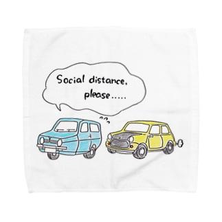 可哀想なロビン Towel handkerchiefs