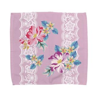 貴婦人のハンケチシリーズA Towel handkerchiefs