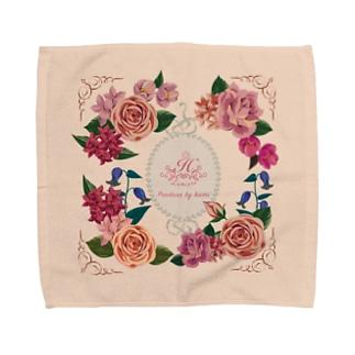 貴婦人のハンケチC Towel handkerchiefs