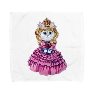 クイーンキャット Towel handkerchiefs