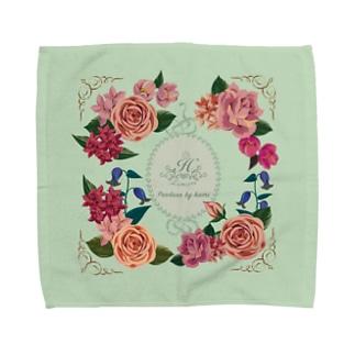 貴婦人のハンケチD Towel handkerchiefs