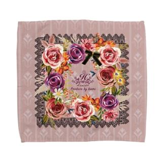 貴婦人のハンケチE Towel handkerchiefs
